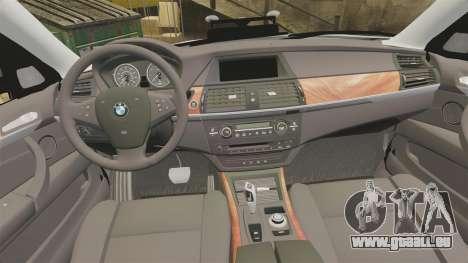 BMW X5 City Of London Police [ELS] für GTA 4 Seitenansicht