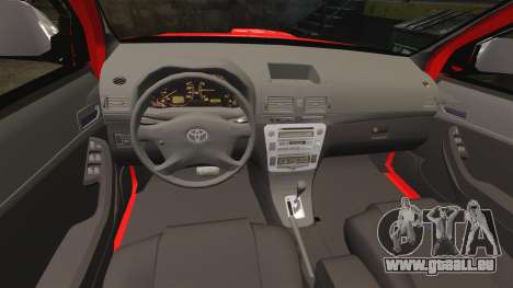 Toyota Hilux London Fire Brigade [ELS] pour GTA 4 est un côté