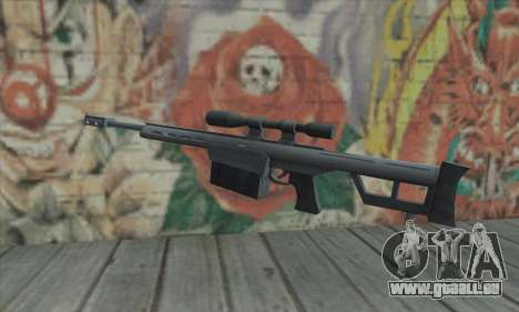Scharfschützengewehr von den Saints Row 2 für GTA San Andreas zweiten Screenshot