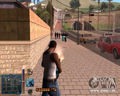 C-HUD by Mike Renaissance pour GTA San Andreas
