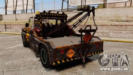 Chevrolet Tow truck rusty Stock für GTA 4 hinten links Ansicht