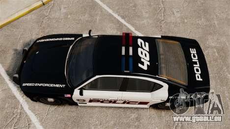 GTA V Bravado Buffalo Supercharged LCPD für GTA 4 rechte Ansicht