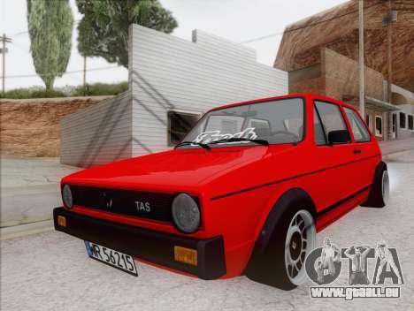 Volkswagen Golf GTI MK1 für GTA San Andreas