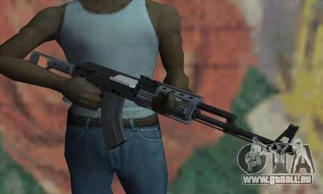 L'AK47 de GTA V pour GTA San Andreas troisième écran