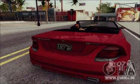 Feltzer de GTA IV pour GTA San Andreas laissé vue