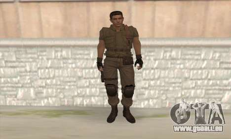 Chris Redfield v2 für GTA San Andreas