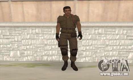 Chris Redfield v2 pour GTA San Andreas