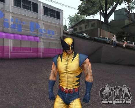 X-men Origins: Wolverine [Skins Pack] pour GTA San Andreas septième écran
