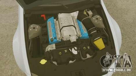 Ford Mustang GT 2013 NFS Edition pour GTA 4 est une vue de l'intérieur