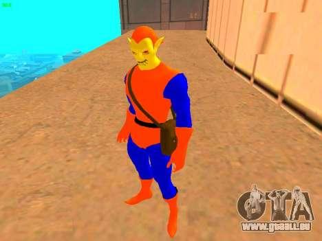 Hobgoblin Comics für GTA San Andreas zweiten Screenshot