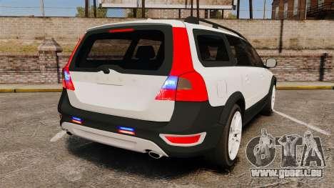Volvo XC70 Unmarked [ELS] für GTA 4 hinten links Ansicht