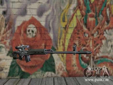 Fusil de sniper de S.T.A.L.K.E.R. pour GTA San Andreas