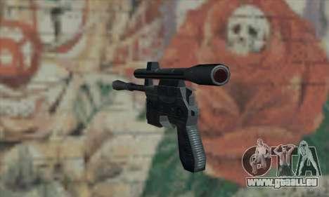 Blaster aus Star Wars für GTA San Andreas zweiten Screenshot