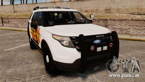 Ford Explorer 2013 Longwood Police [ELS] pour GTA 4