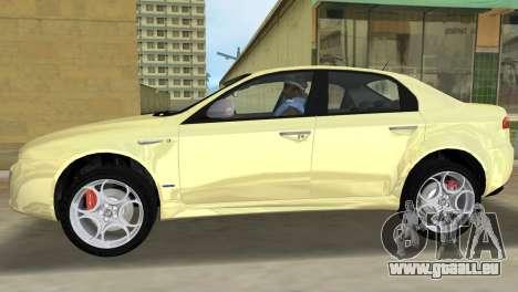 Alfa Romeo 159 ti für GTA Vice City linke Ansicht