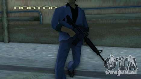 M4 de la version XBOX pour le quatrième écran GTA Vice City