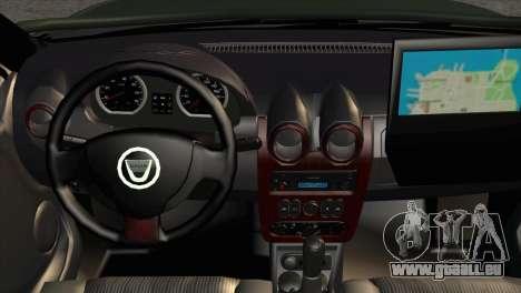 Dacia Duster Army Skin 1 für GTA San Andreas rechten Ansicht