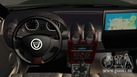 Dacia Duster Army Skin 1 pour GTA San Andreas vue de droite