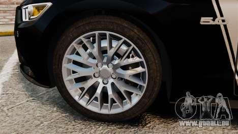 Ford Mustang GT 2015 Police für GTA 4 Innenansicht