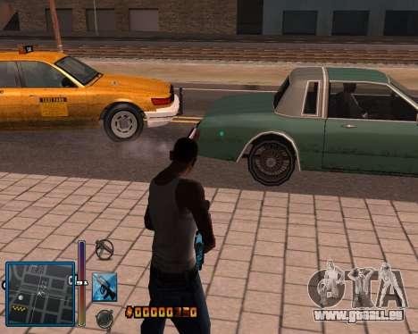 C-HUD by Mike Renaissance pour GTA San Andreas cinquième écran