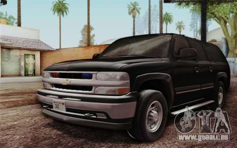 Chevrolet Suburban FBI für GTA San Andreas