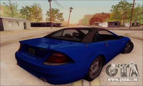 Feltzer de GTA IV pour GTA San Andreas vue arrière