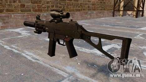 UMP45 mitraillette pour GTA 4 secondes d'écran