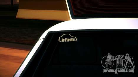 VAZ 2109 v. 2 für GTA San Andreas Rückansicht
