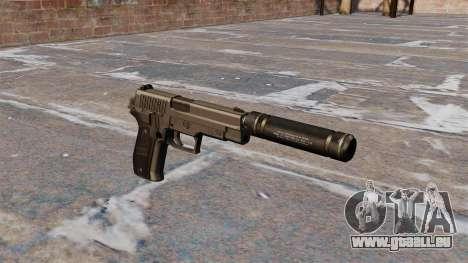 SIG-Sauer P226 pistolet avec silencieux pour GTA 4