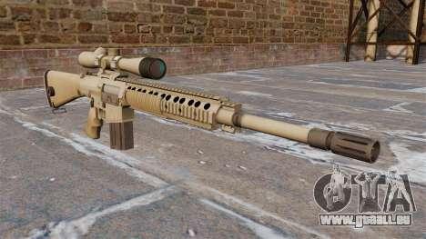 Le fusil de sniper M110 SASS pour GTA 4