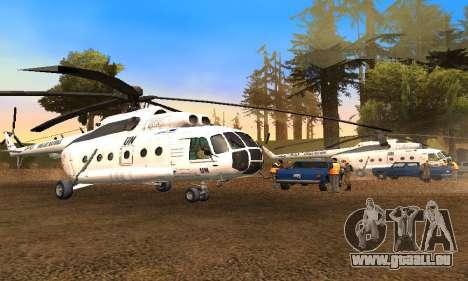 MI 8-UN (Vereinte Nationen) für GTA San Andreas