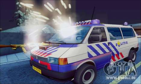 Volkswagen T4 Politie pour GTA San Andreas laissé vue