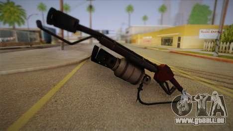 Flammenwerfer aus Team Fortress für GTA San Andreas zweiten Screenshot