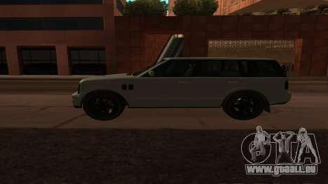 Baller GTA 5 für GTA San Andreas linke Ansicht