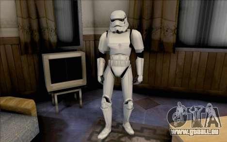 Stormtrooper de Star Wars pour GTA San Andreas deuxième écran