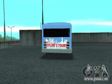 Ford Shuttle Bus für GTA San Andreas rechten Ansicht