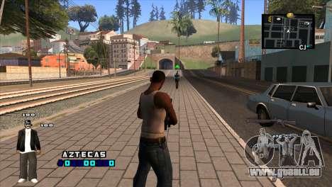 C-HUD Aztecaz für GTA San Andreas zweiten Screenshot