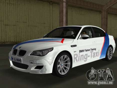 BMW M5 (E60) 2009 Nurburgring Ring Taxi für GTA Vice City