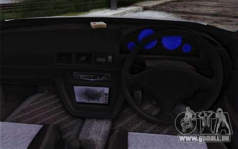 Honda Prelude 2.2 VTi DOHC VTEC 1996 pour GTA San Andreas vue arrière
