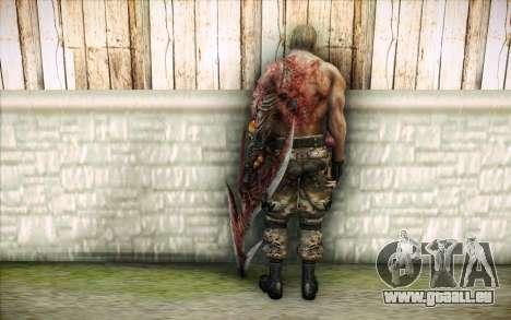 Un Krauser infecté pour GTA San Andreas deuxième écran