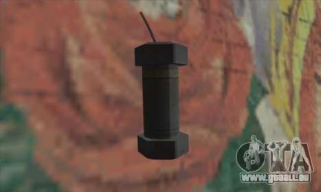 Granatapfel von Saints Row 2 für GTA San Andreas zweiten Screenshot