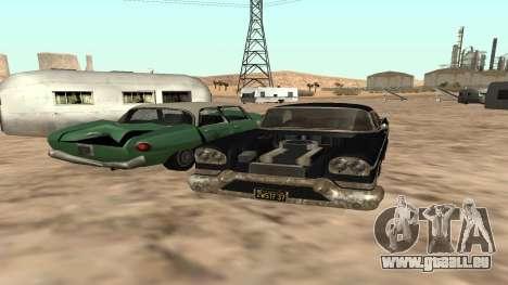 Tornado GTA 5 für GTA San Andreas zurück linke Ansicht
