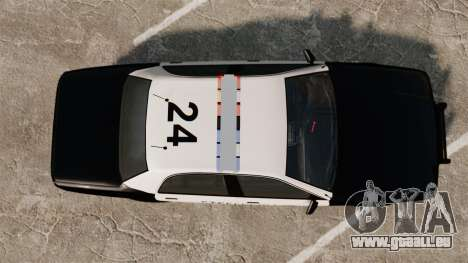 GTA V Vapid Steelport Police Cruiser [ELS] pour GTA 4 est un droit