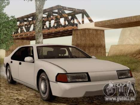 Fortune Sedan pour GTA San Andreas