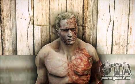 Un Krauser infecté pour GTA San Andreas troisième écran