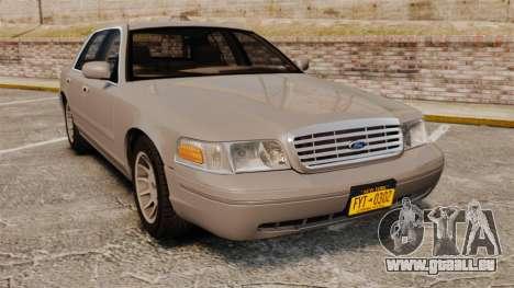 Ford Crown Victoria 1999 pour GTA 4
