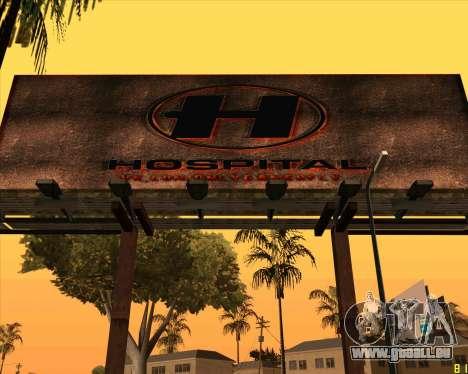 Nouvel hôpital de HD pour GTA San Andreas deuxième écran