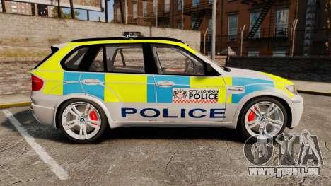 BMW X5 Police [ELS] für GTA 4 linke Ansicht