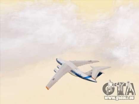 Il-76td-90vd Volga-Dnepr pour GTA San Andreas vue de dessus