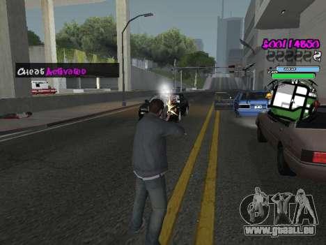 HUD pour GTA San Andreas dixième écran